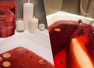 Body On Demand Launches Vegan Mulled Wine Bath Salts