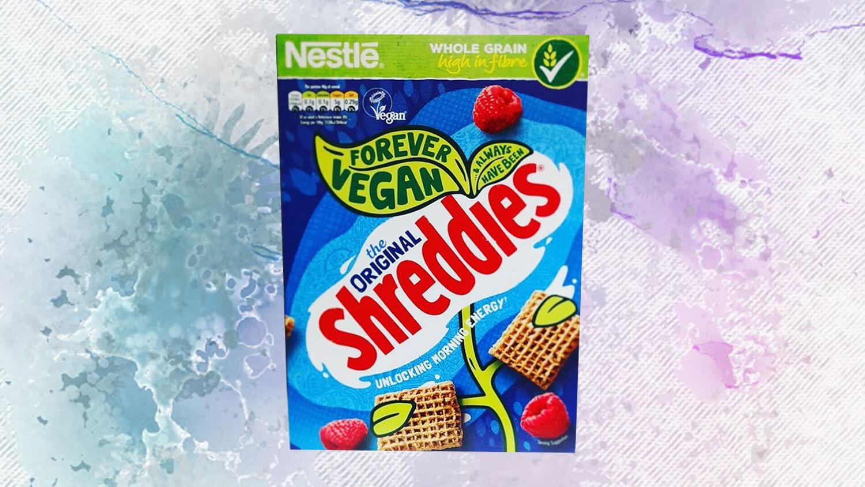 Nestlé Introduces Proud 'Forever Vegan' Labels on Shreddies Cereal Boxes