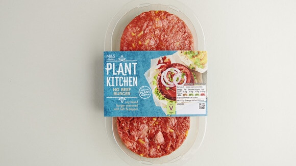 Marks & Spencer Launches 'Plant Kitchen' With 60 Vegan Meals and Ingredients