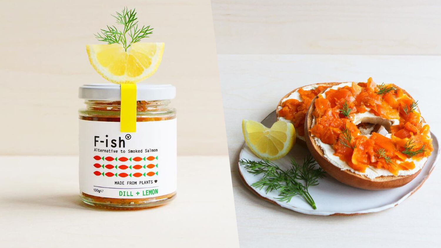 Vegan Smoked Carrot Salmon F Ish In A Jar Launches In Uk