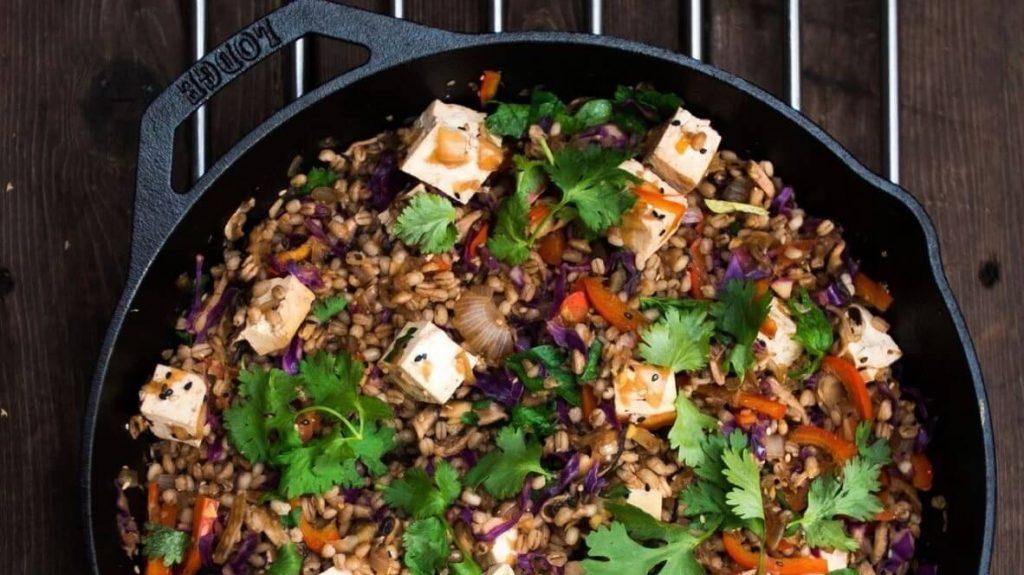 Indian Saag Spinach and Tofu 'Cheese' Paneer Vegan Recipe