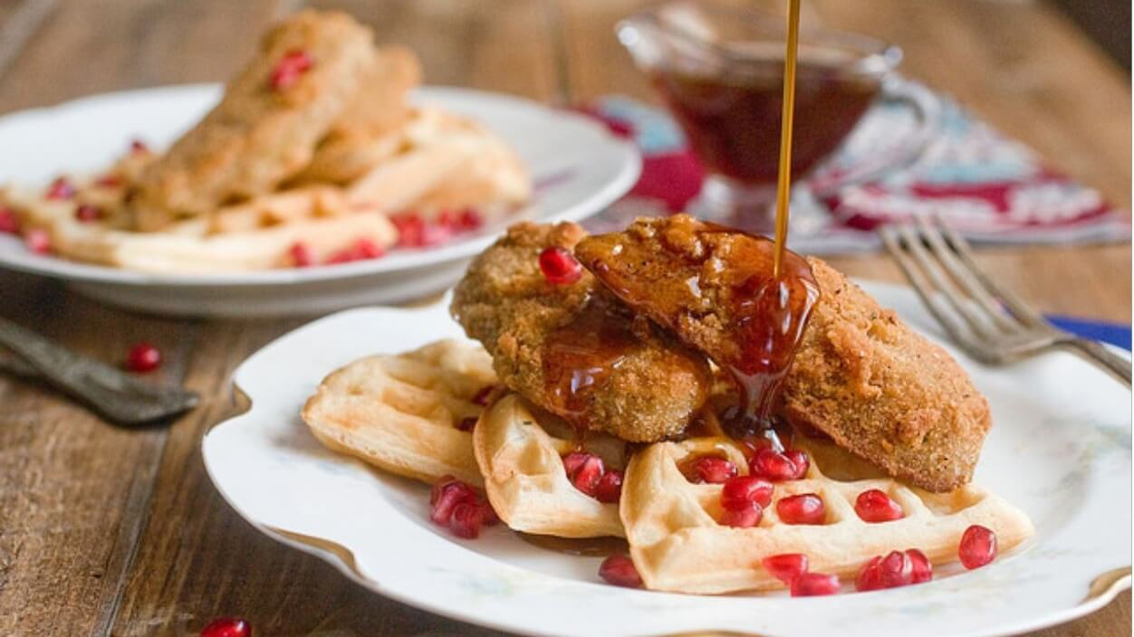9 Southern-Style Vegan Fried Chicken and Waffles Recipes