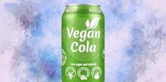 Vegan Cola With 50% Less Sugar Than Coca-Cola Launches in Poland