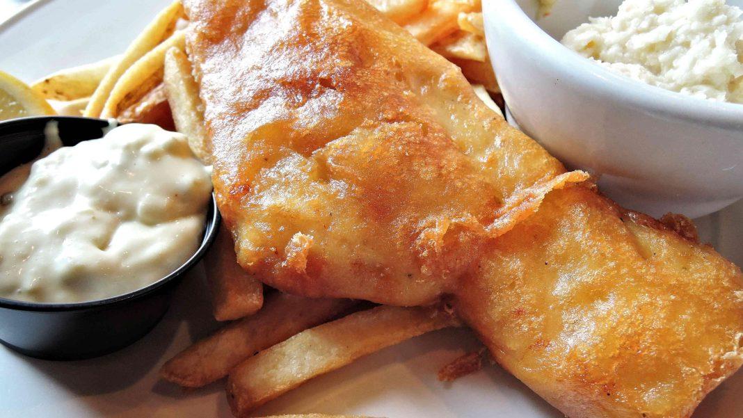 British Chippy Style Vegan Beer-Battered Tofu 'Fish' Recipe