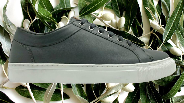 German Footwear Brand Thies Releases Vegan Olive Leather Shoe Range