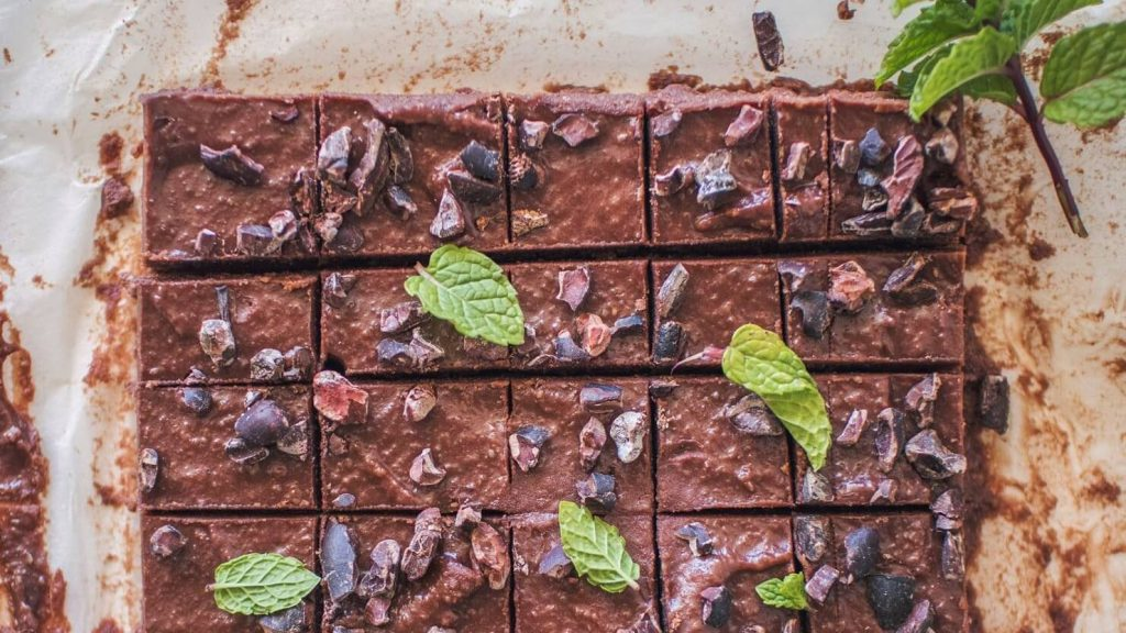 Be Your Own Santa With This Vegan Chocolate Peppermint Fudge Recipe