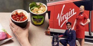 Virgin Trains Launches Full Vegan Menu Across All Routes