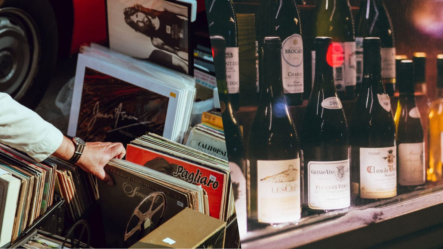 The UK Now Has a Vegan Wine and Vinyl Record Shop, Winyl