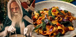 PSA: Santa's Vegan Now and Loves Pasta (Obviously)
