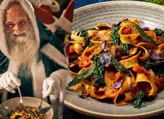 PSA: Santa's Vegan Now and Loves Pasta (Obviously)