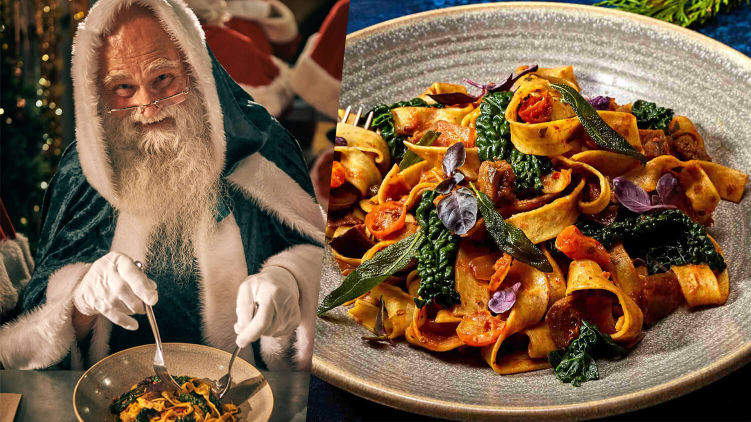 UK Italian Restaurant Chain Zizzi Launches First Christmas Ad Featuring Vegan Santa