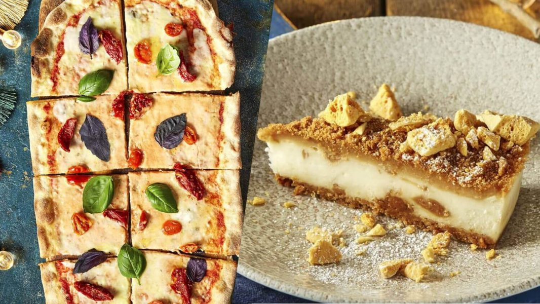 Dairy-Free Four-Cheese Pizza and Vegan Caramelized Biscuit Cheesecake Arrive at Zizzi