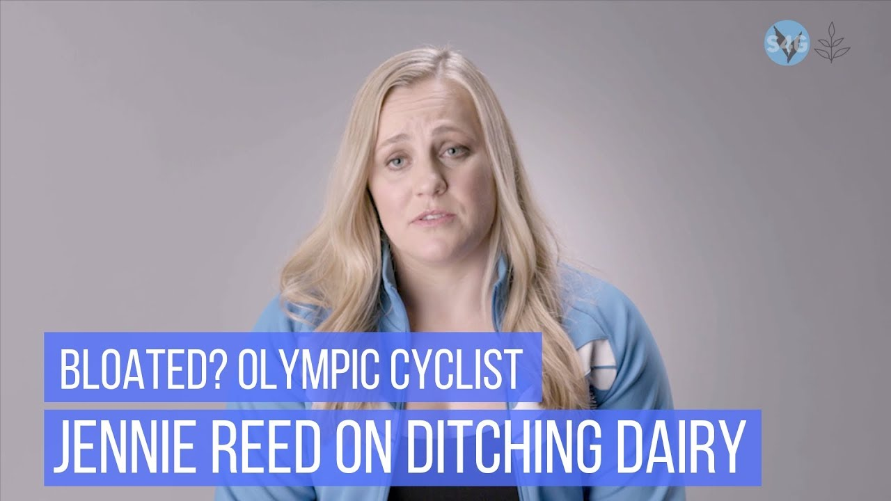 Bloated? Olympic Cyclist Jennie Reed On Ditching Dairy