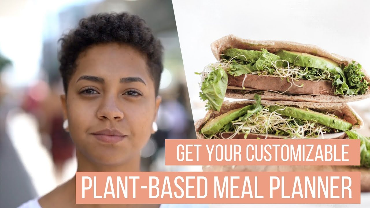 Get Your Customizable Plant-Based Meal Planner from LIVEKINDLY