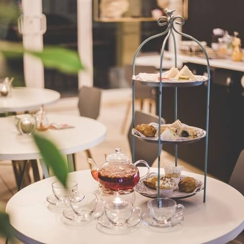 London's OXO Tower Launches Vegan Afternoon Tea Featuring Scones, Clotted Dairy-Free Cream and Cheese Sandwiches