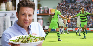 Jamie Oliver Creates 'Friday Night Feast' Menu for World's First Vegan Football Team Forest Green Rovers