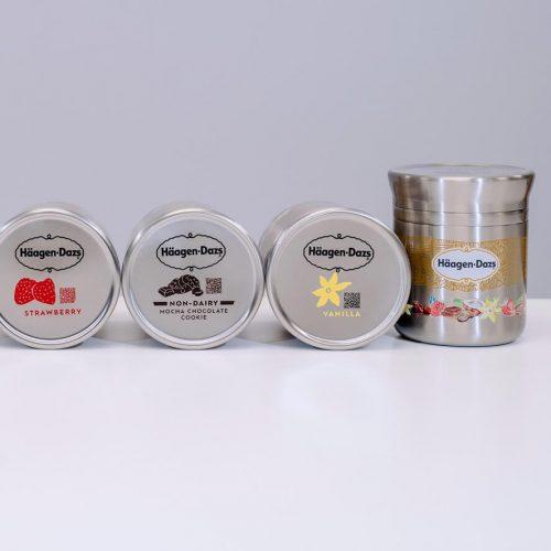 Haagen Dazs Is the Milk Man Now, Delivering Vegan Ice Cream In Reusable Pints