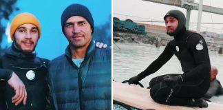 Vegan Athletes Lewis Hamilton and Kelly Slater Go Surfing Together