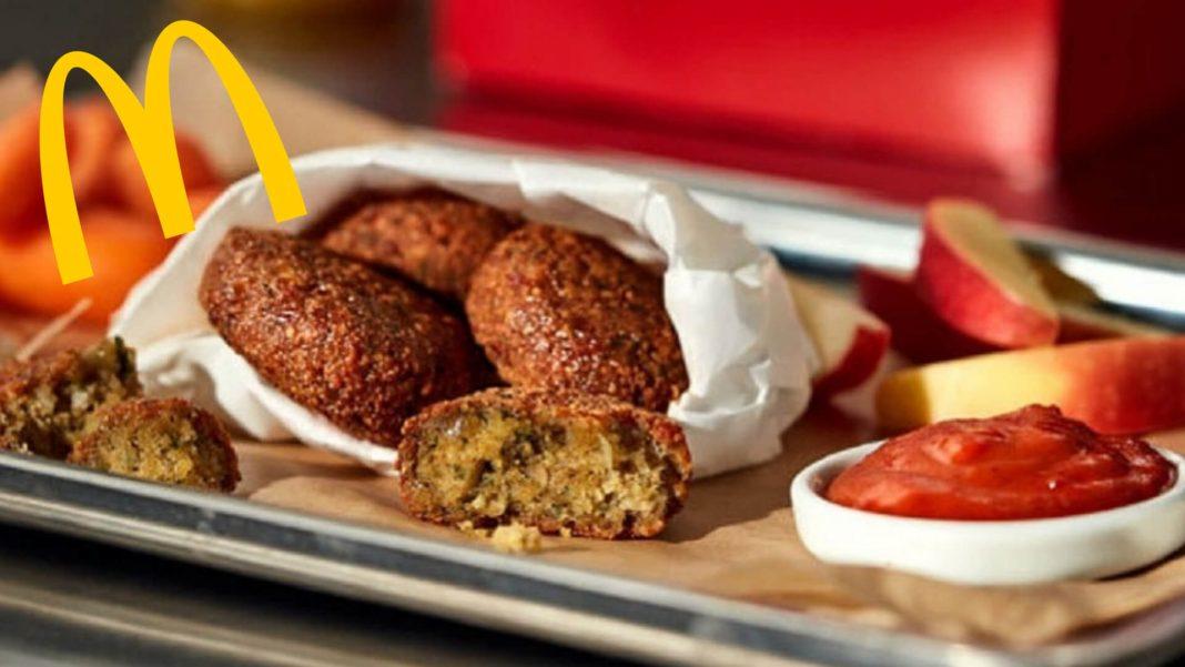 McDonald's Just Launched Vegan McFalafel 'Nuggets' and Dip