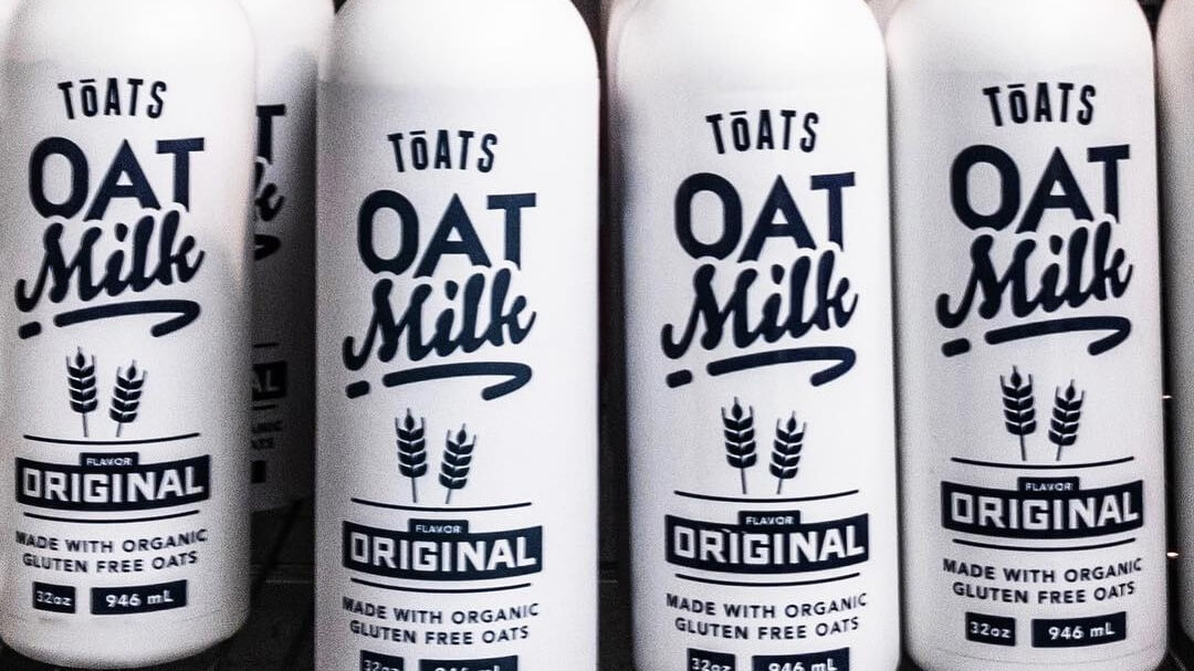 Vegan Colorado-Based Company 'Toats' Launches Dairy-Free 'American' Oat Milk
