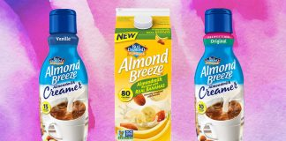 Blue Diamond Launches Vegan Almond Milk Creamer and Dairy-Free Banana Milk