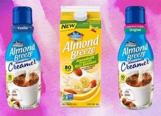 Blue Diamond Launches Vegan Almond Milk Creamer and Dairy-Free Banana Milk