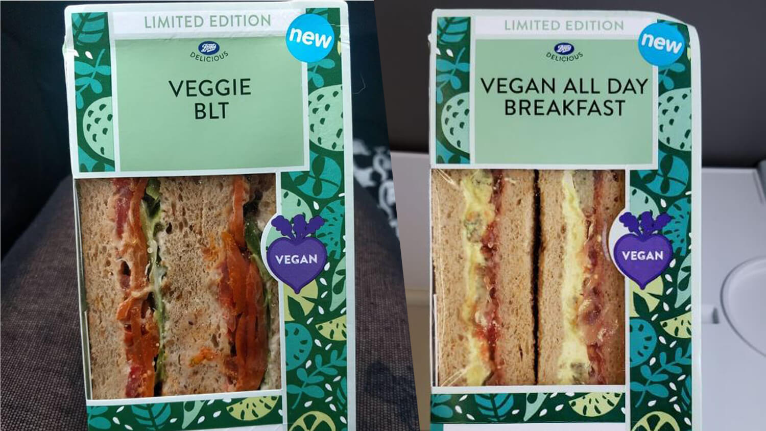 Boots Launches Vegan All Day Breakfast Sandwich and Plant-Based BLT
