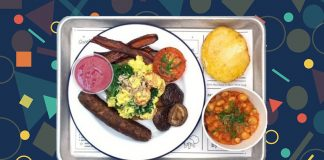 By CHLOE. Launches Vegan Full English Fry-Up Breakfast at London's Covent Garden Restaurant