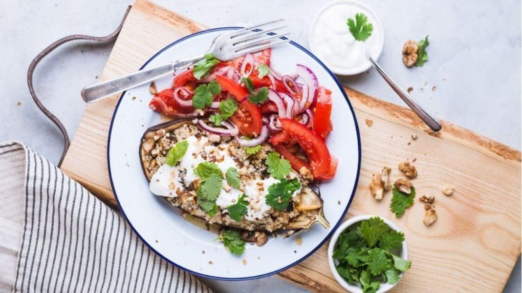 Vegan Sesame and Umami Miso Glazed Eggplant