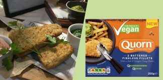 Quorn UK to Launch Sustainable Fish-Free Vegan Battered 'Cod' Filets