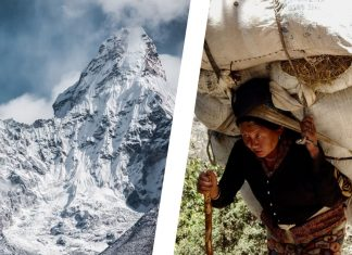 Tibetans Are Growing Vegetable Gardens at the Base of Mt. Everest