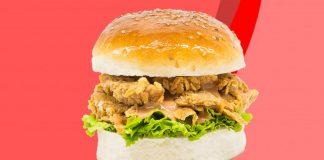 Good Dot Launches 'Good Gurber' KFC Zinger-Style Vegan Burger in India