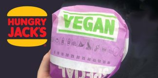 Hungry Jacks Australia Now Serves Meatless Burgers In 'Special Vegan' Paper