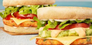 Vegan Breakfast Muffins Now At Hungry Jacks