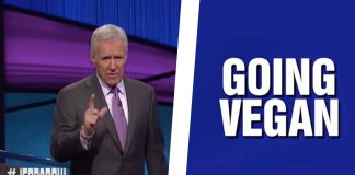 Game Show 'Jeopardy' Tests Contestants Knowledge on 'Going Vegan'