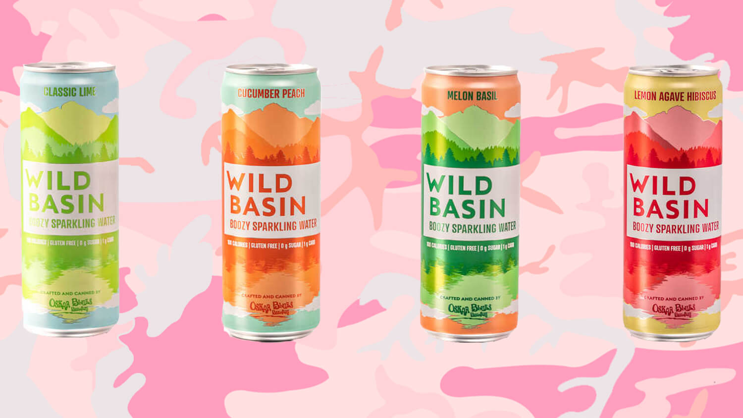 Oskar Blues Brewery Launches Vegan LaCroix-Style 'Wild Basin' Booze In 4 Flavors