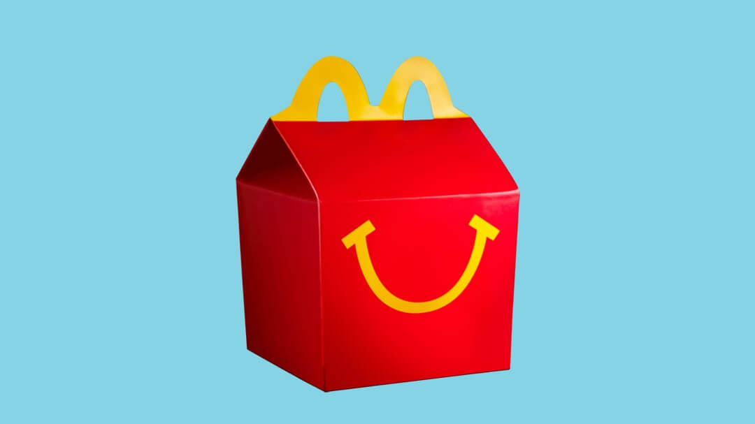 McDonald's UK Launches Vegan Happy Meals With Dairy-Free Red Pesto Goujons