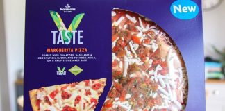 Morrisons Launches Gluten-Free Vegan Cheese Margherita Pizza