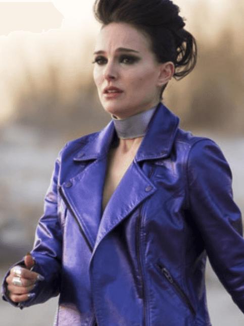 'Vox Lux' Costume Designer Keri Langerman Created Natalie Portman's Vegan Metallic Purple Leather Wardrobe