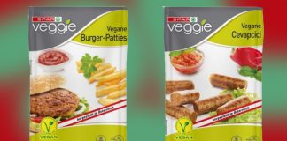 Spar Austria Supermarket Launches Own-Brand Frozen Vegan Meat Range