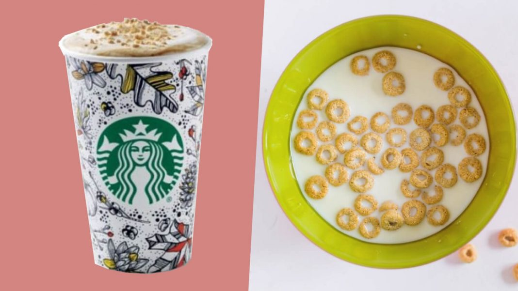 Cereal Lattes With Dairy Free Oat Milk Launch At Starbucks