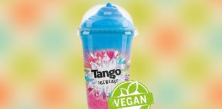 Tango Ice Blast Adds Certified Vegan Logo to Slushies
