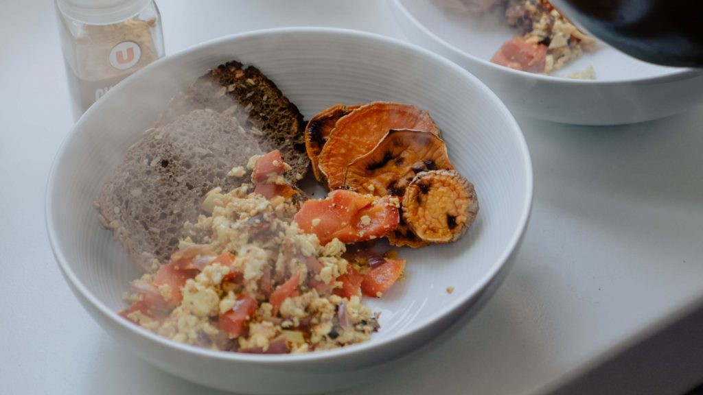 This Is the Big Vegan Tofu Scramble You've Been Waiting For