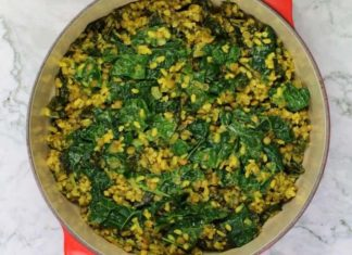 Dinner's Ready With This One Pot Vegan Coconut Lentil Curry