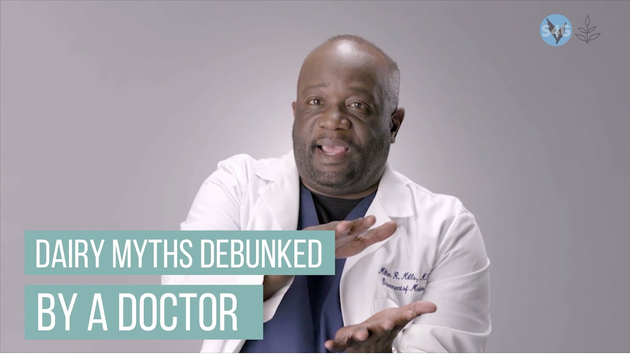 Dairy Myths Debunked... By a Doctor (Featuring What The Health Star, Dr. Milton Mills)