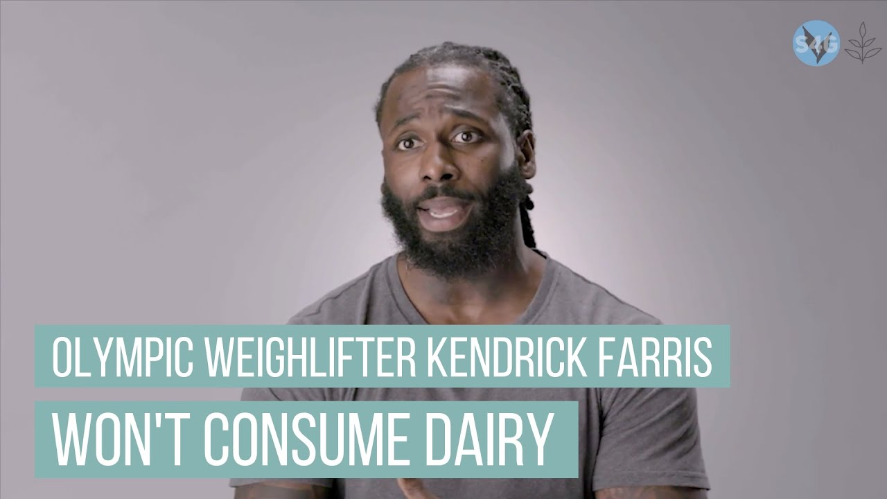 Why Olympic Weight Lifter Kendrick Farris Won't Consume Dairy