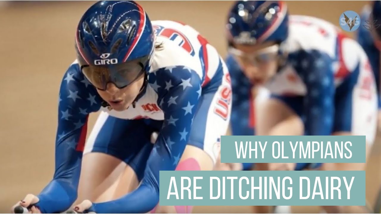 The Reasons Why Olympic Athletes Are Ditching Dairy (And You Should Too)