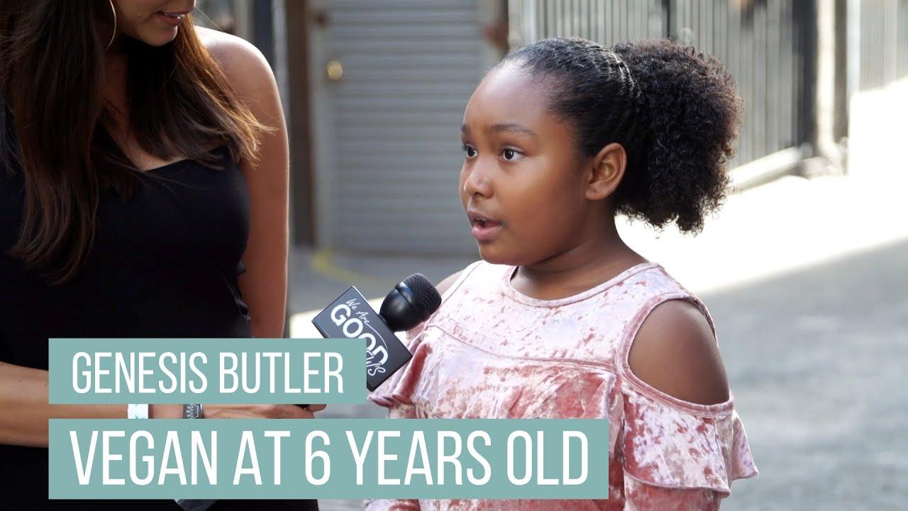 Vegan At 6 Years Old And Saving Animals Ever Since - Meet Genesis Butler