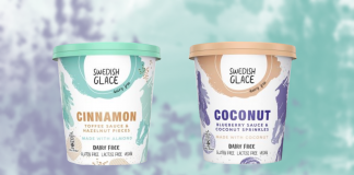 Blueberry and Cinnamon Vegan Ice Cream Now in Waitrose