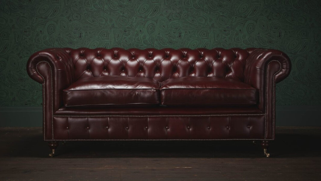 Chesterfield Sofas Get A Vegan Leather Makeover